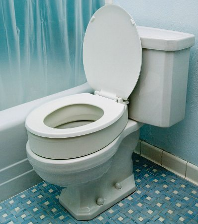 Raised Seats Toilet Seat Riser Elongated